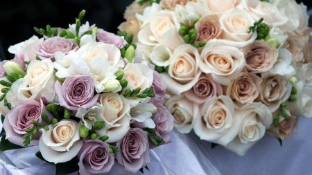 roses, flowers, wedding bouquets