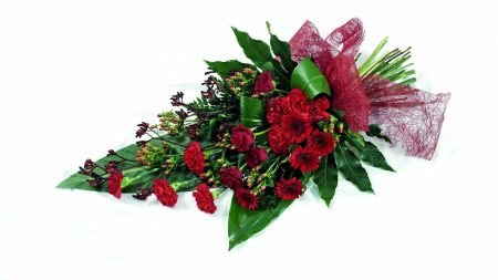 roses, gerberas, carnations
