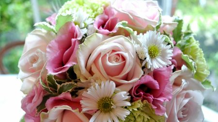 roses, lisianthus russell, chrysanthemum flower