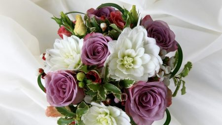 roses, lisianthus russell, flowers