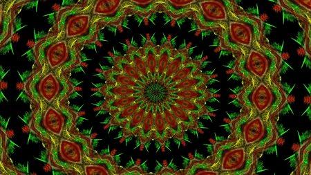 rotation, patterns, bright