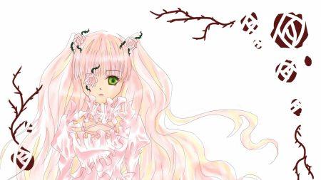 rozen maiden, girl, rose dress