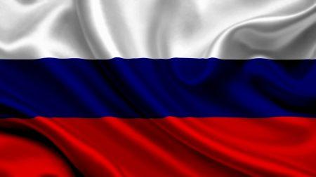 russia, satin, flag