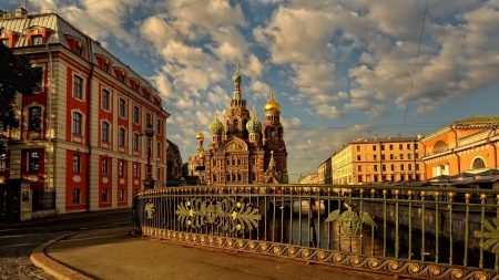 russia, st petersburg, church