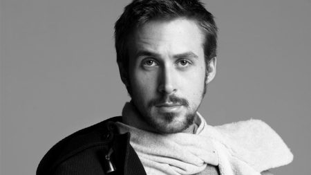 ryan gosling, actor, scarf