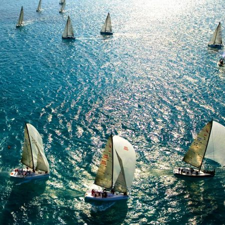 sail, sea, swimming