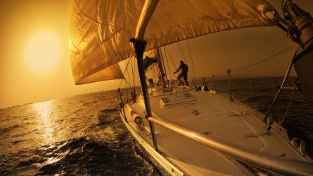 sailing ship, ocean, ??sea