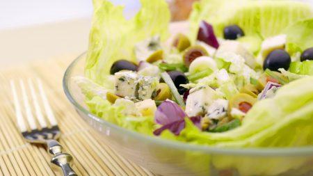 salad, easy, greek