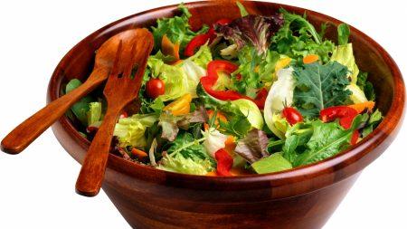 salad, vegetable, dish