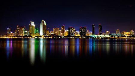 san - diego, night, california