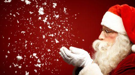 santa claus, christmas, holiday