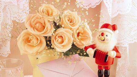 santa claus, gift, note