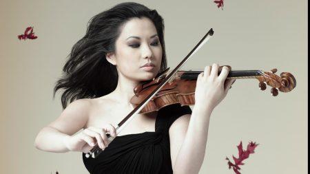 sarah chang, girl, violin