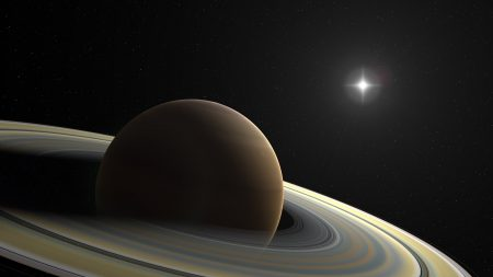saturn, planet, ring