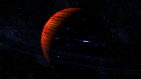 saturn, rings, planet
