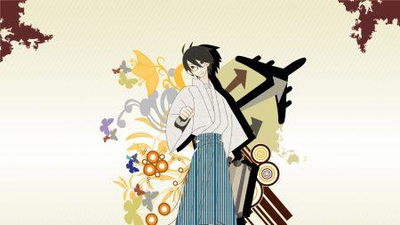 sayonara zetsubou sensei, guy, kimono