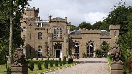 scotland, castle, city