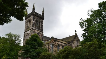 scotland, edinburgh, church