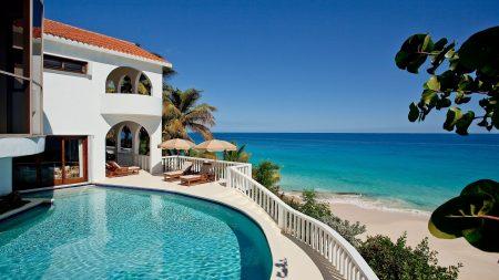 sea, beach, hacienda
