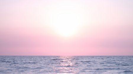 sea, blue, lilac