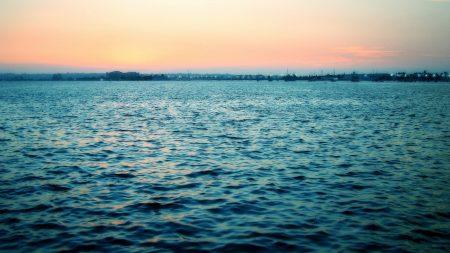 sea, calm, water table