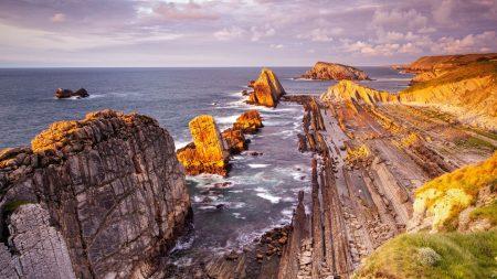 sea, rocks, beach