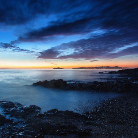 sea??, shore, lights