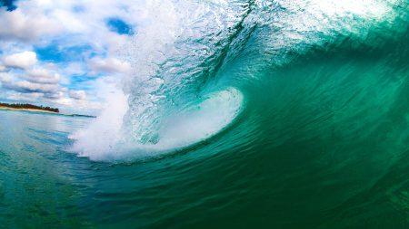 sea??, wave, island