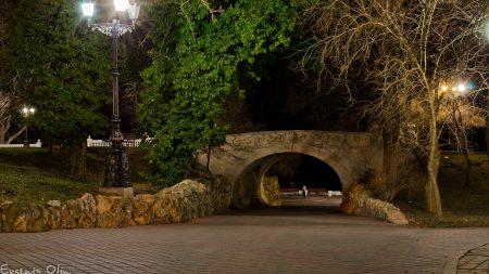 sevastopol, bridge, evening