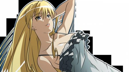 shakugan no shana, girl, blonde