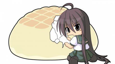 shakugan no shana, girl, white bread