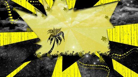 shine, palm, fragments