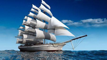 ship, sea, swim
