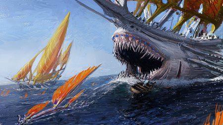 ship, shark, jaws