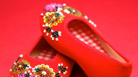 shoes, china, traditional