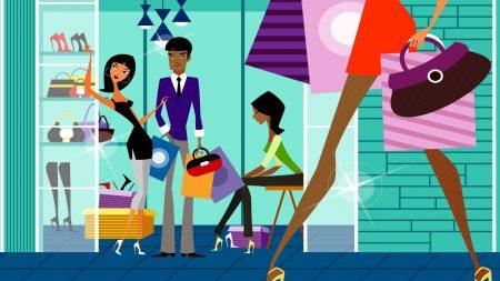 shop, shopping, people