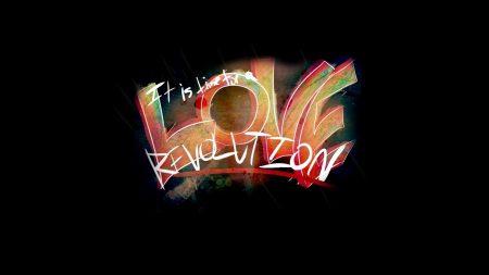sign, love, revolution