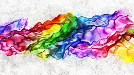silk, colorful, neon