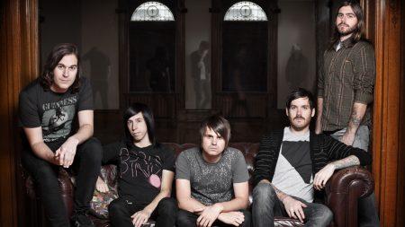 silverstein, band, couch
