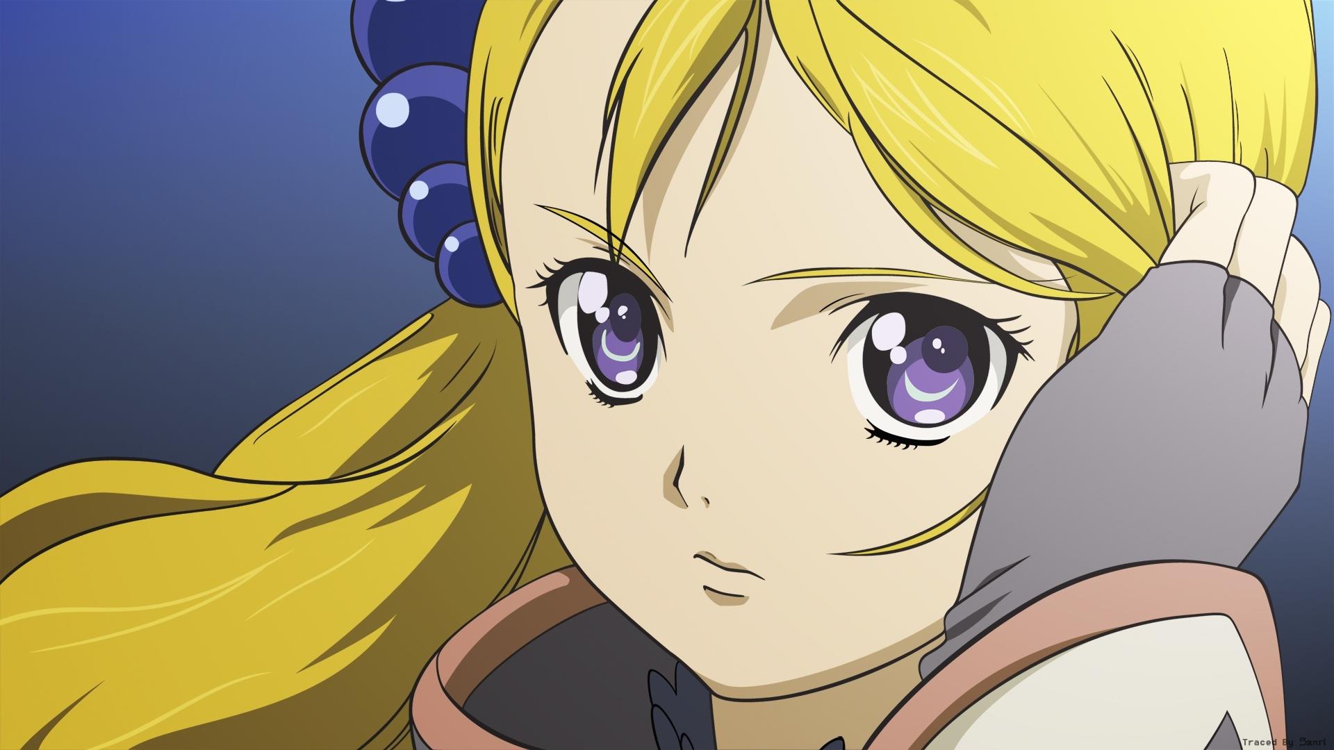 simoun, girl, blonde