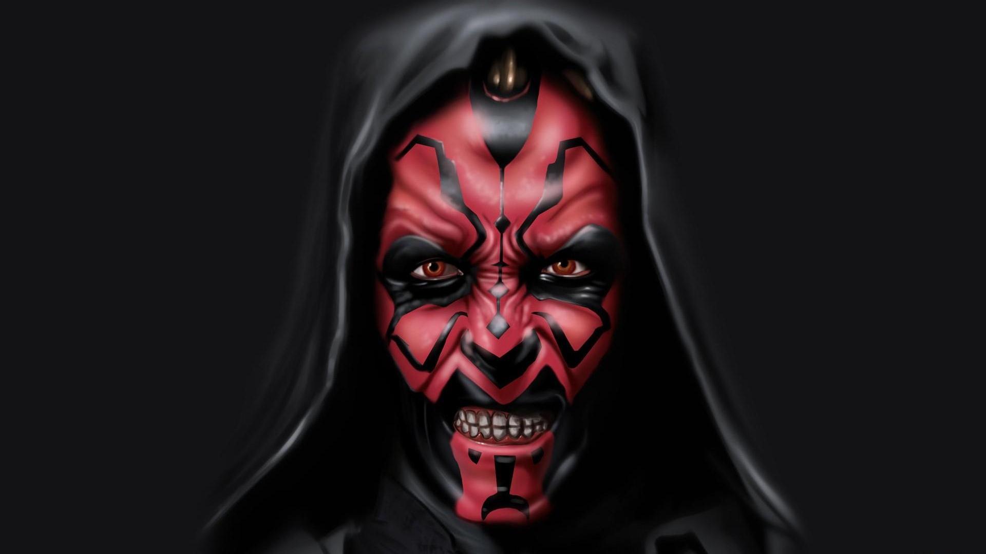 Download Wallpaper 1920x1080 Sith Star Wars Darth Maul Dark Side Full Hd 1080p Hd Background