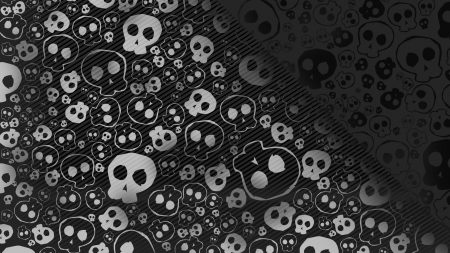skull, texture, background