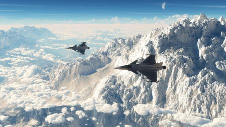 sky, aircraft, fighter