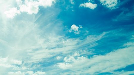 sky, clouds, azure