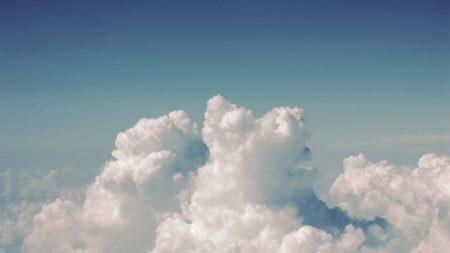 sky, clouds, summer