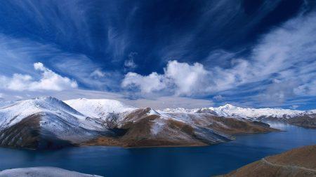 sky, mountains, hills