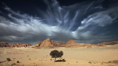 sky, sand, clouds