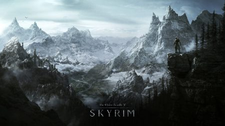 skyrim, world, rocks