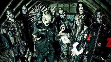 slipknot, masks, image