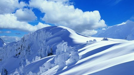 slope, descent, mountain